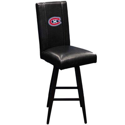 Swivel Bar Stool NHL Team: Montreal Canadiens