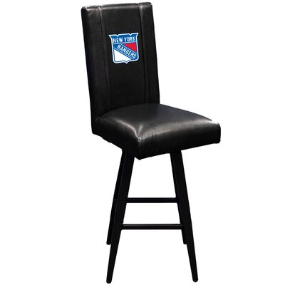 Swivel Bar Stool NHL Team: New York Rangers