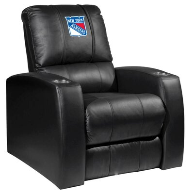 Relax Manual Recliner NHL Team: New York Rangers