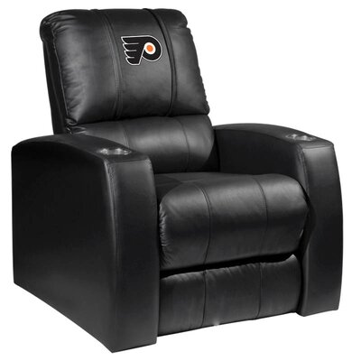 Relax Manual Recliner NHL Team: Philadelphia Flyers