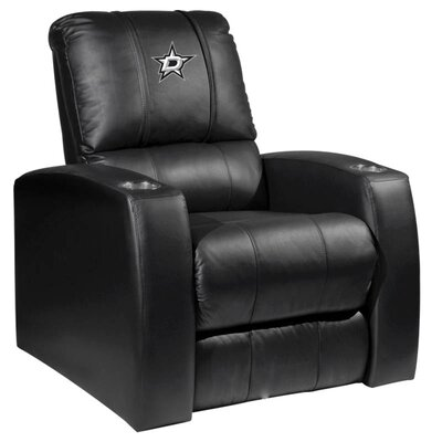 HT Leather Manual Recliner NHL Team: Dallas Stars