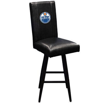 Swivel Bar Stool NHL Team: Edmonton Oilers