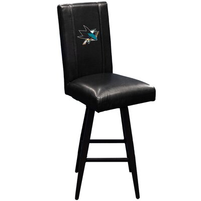 Swivel Bar Stool NHL Team: San Jose Sharks
