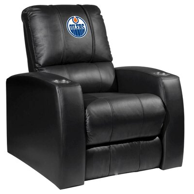 Relax Manual Recliner NHL Team: Edmonton Oilers