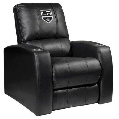 HT Leather Manual Recliner NHL Team: Los Angeles Kings