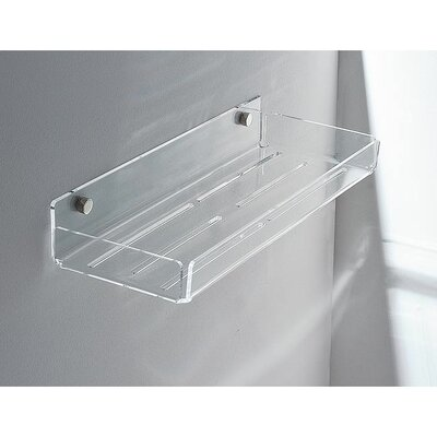 "Toscanaluce by Nameeks Wall Mounted Accessory Holder - Finish: Transparent, Shelves: Three, Size: 8"" at Sears.com"