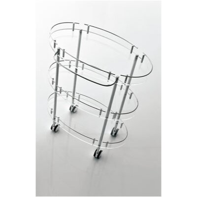 Toscanaluce by Nameeks Toiletries Cart - Finish: Transparent at Sears.com