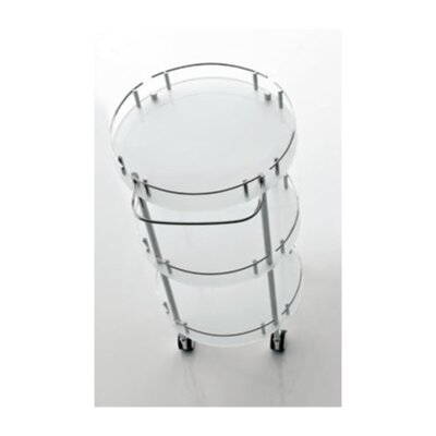 Toscanaluce by Nameeks Orange Toiletries Cart - Finish: Transparent at Sears.com