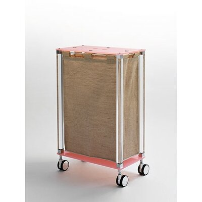 Toscanaluce by Nameeks Linen Cart with Jute Bag - Finish: Transparent at Sears.com