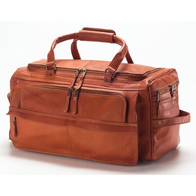 "Vachetta 19.5"" Leather Travel Duffel Color: Vachetta Tan"