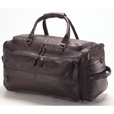 "Vachetta 19.5"" Leather Travel Duffel Color: Vachetta Caf"