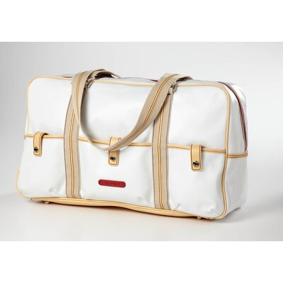 "Carina 18"" Travel Duffel Color: White"