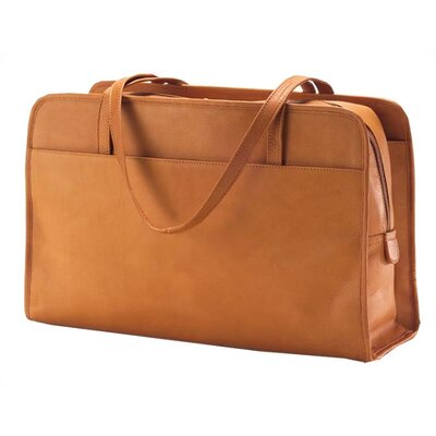 Vachetta Three Section Tote in Tan