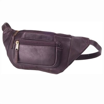 Clava Leather Vachetta Kangaroo Pouch Hip Pack in Caf� at Sears.com