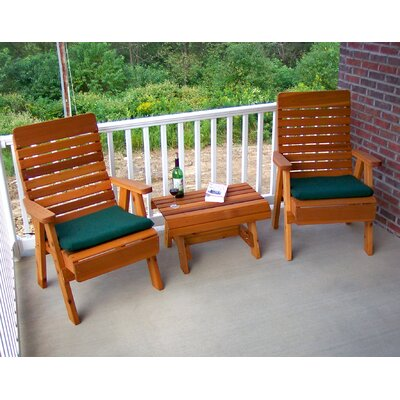 Cedar Twin Ponds Chair Collection Finish: Cedar Stain/Sealer