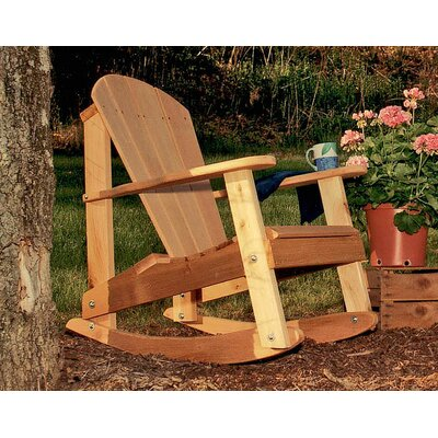 Seaside Casual Classic Adirondack Rocking Chair - EnviroWood | Wayfair
