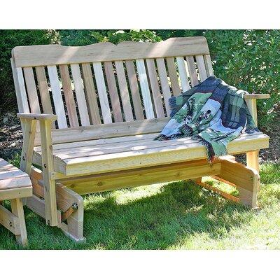 Creekvine Designs Cedar Countryside Wood Garden Bench - Size: 2', Finish: Cedar Stain/Sealer at Sears.com