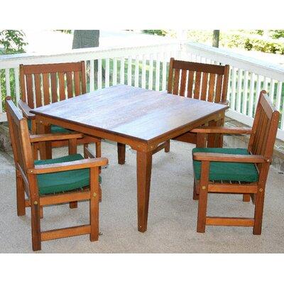 Cedar Get Together 5 Piece Dining Set Size: 36, Finish: Cedar Stain/Sealer