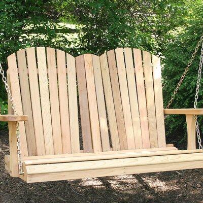Cedar Porch Swing Finish: Cedar Stain/Sealer