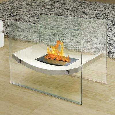 Anywhere Fireplace Broadway Glass Bio-ethanol Fireplace