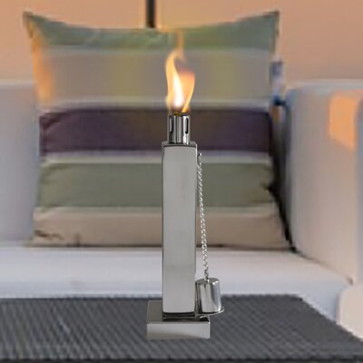Anywhere Fireplace Rectangle Tabletop Torch