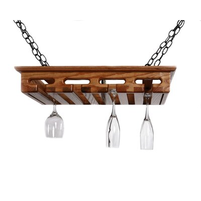 Easy financing 12 Glass Hanging Wine Glass Rack...