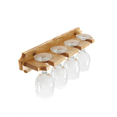 Cinchring Wall Mounted Wine Glass Rack