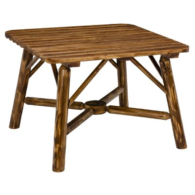 Toasted Log Dining Table