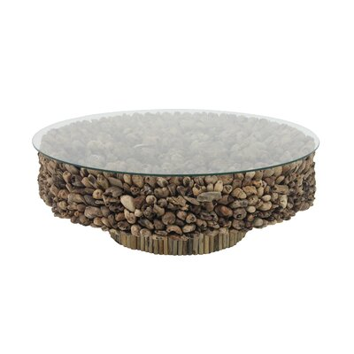 Alston Natural Round Drift Coffee Table