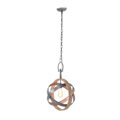 Gaylene 1-Light Globe Pendant