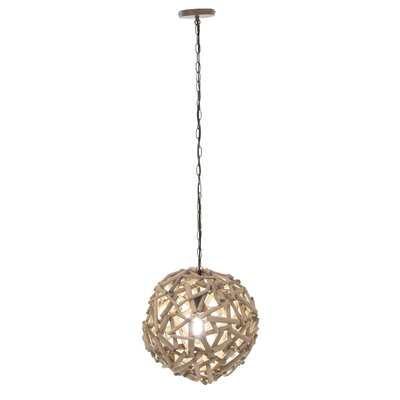 Allred 1-Light Globe Pendant