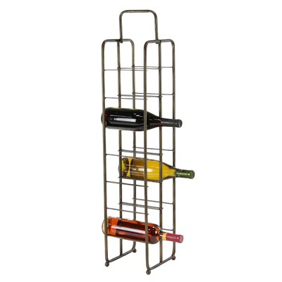 Dominque Contemporary 14-Bottle Tabletop Wine Bottle Rack