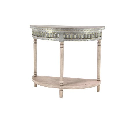 Polson Traditional Half-Rounded Table