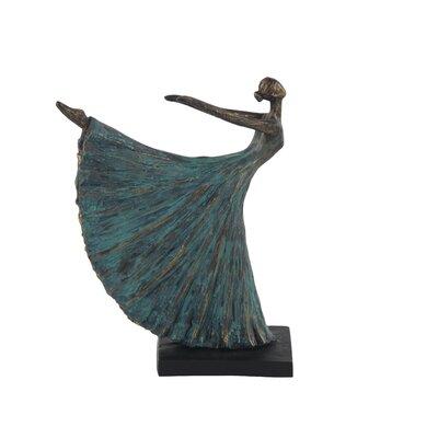 Kitty Rustic Dancer in Arabesque Figurine LDER7144 43155033