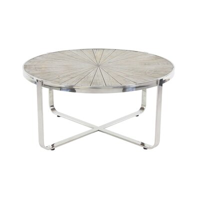 Purin Contemporary Radial Coffee Table