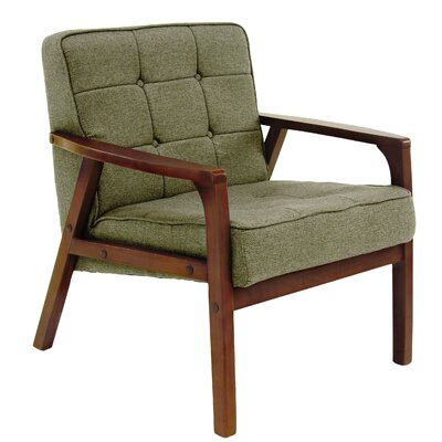 Laurie Armchair Upholstery: Green