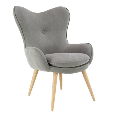 Weisinger Armchair Upholstery: Gray