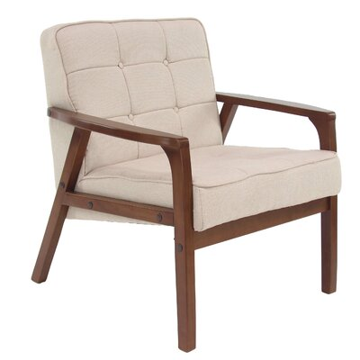 Laurie Armchair Upholstery: Cream