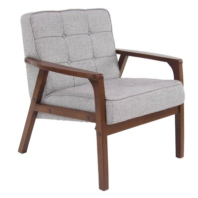 Laurie Armchair Upholstery: Gray