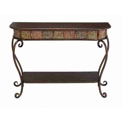 Cheap UMA Enterprises Urban Trends Metal Wood Console Table (QPV1287)
