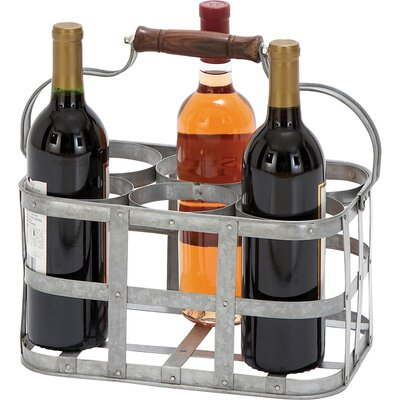 Avon 6 Bottle Tabletop Wine Rack