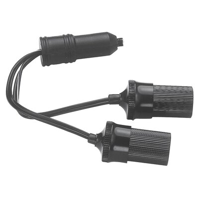 12 Volt Twin Plug-In Cigarette Lighter Sockets