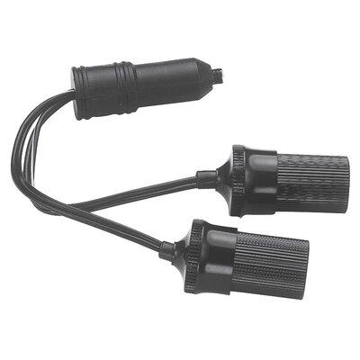 12 Volt Twin Plug-In Cigarette Lighter Sockets