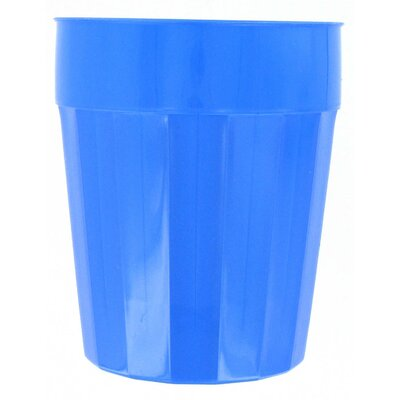 Fluted Polyethylene Water/Juice Glass 16 oz. Plastic FC16-144