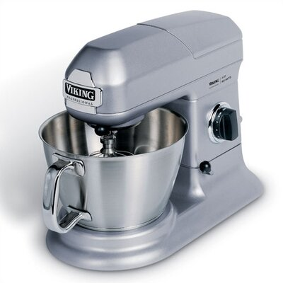 Stand Mixer Size-7 Quart  Color-gray