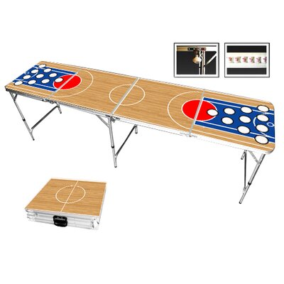 Red Cup Pong Basketball Beer Pong Table in Standard Aluminum at Sears.com