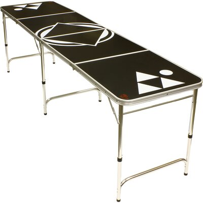 Beer Pong Table BPT-BLACKX8