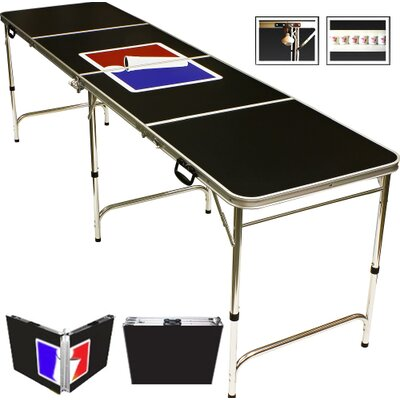 Sports Official Beer Pong Table in Standard Aluminum BPT-SPORTS8
