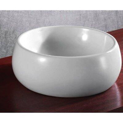 Ceramica Circular Vessel Bathroom Sink