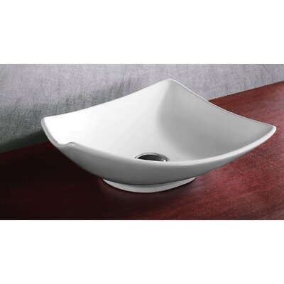 Ceramica Ceramic Specialty Vessel Bathroom Sink